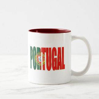 """Bandeira Portuguesa - Marca """"Portugal"""" por Fãs Mug"""
