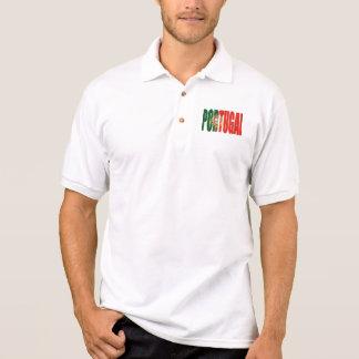 "Bandeira Portuguesa - Marca ""Portugal"" por Fãs Polo Shirt"