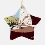 Bandelier National Monument Ceramic Star Decoration