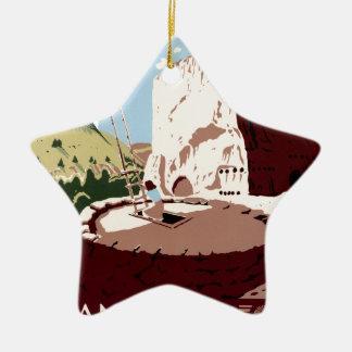 Bandelier National Monument Christmas Ornament