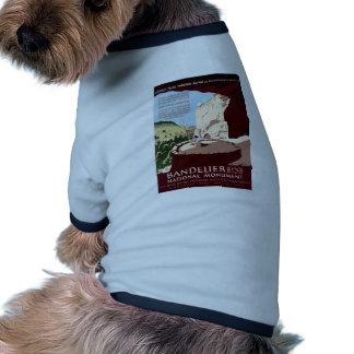 Bandelier National Monument Ringer Dog Shirt