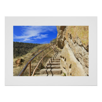 Bandelier Stairs Posters
