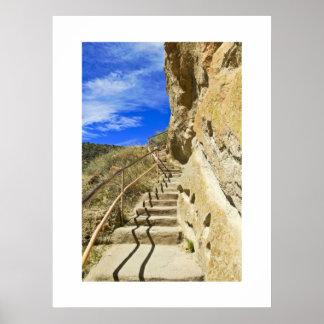 Bandelier Stairs Print