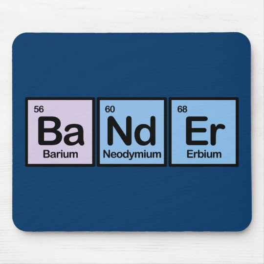 Bander Made of Elements Mouse Mat