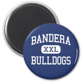 Bandera Bulldogs Middle School Bandera Texas Fridge Magnet