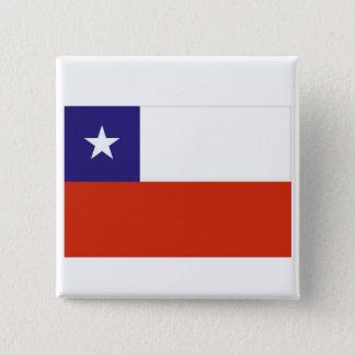 Bandera Chile V 15 Cm Square Badge