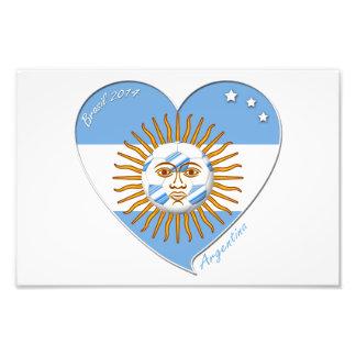 Bandera de ARGENTINA FÚTBOL nacional sol de mayo Fotografías