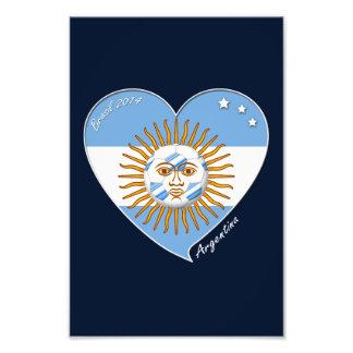 Bandera de ARGENTINA FÚTBOL selección copa Foto