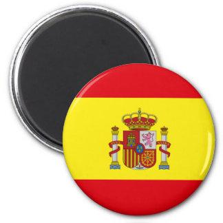 Bandera de España 6 Cm Round Magnet