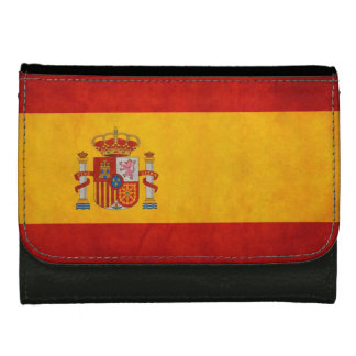 Bandera de España - Retro Grunge Flag of Spain Wallet