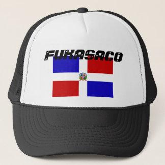 bandera-dominicana-republica, fukasaco trucker hat