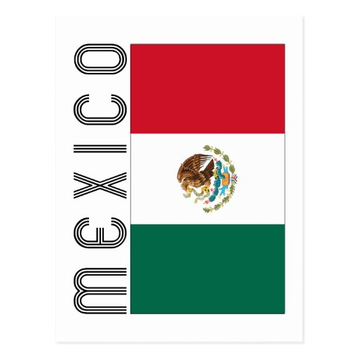 Bandera Mejicana Post Cards