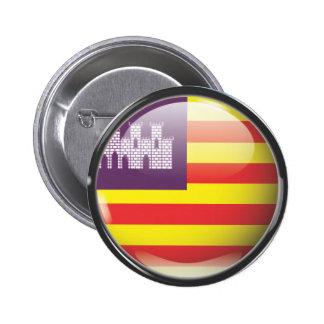 Bandera y escudo de Islas Baleares Pin