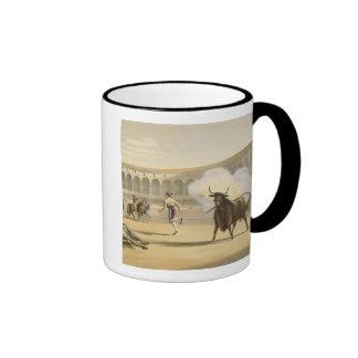 Banderillas de Fuego, 1865 (colour litho) Ringer Mug