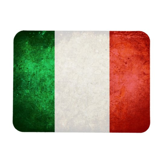 bandiera Italia Rectangular Photo Magnet