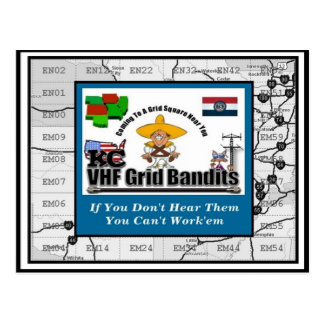 Bandit QSL Card Postcard