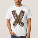 Bandolier Bullet Belt White Tee Shirt