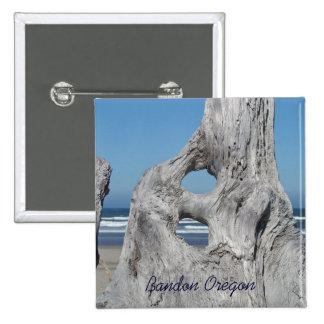 Bandon Oregon buttons Beach Vacation Driftwood