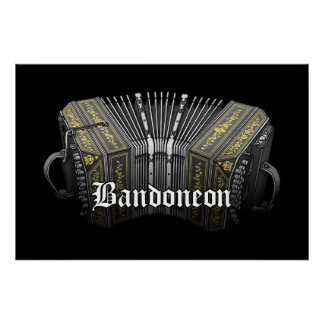 Bandoneon Poster