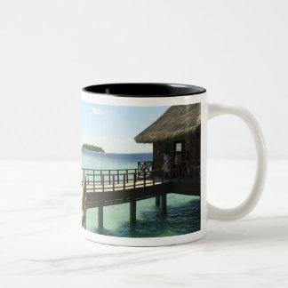 Bandos Island Resort, North Male Atoll, The 2 Two-Tone Coffee Mug