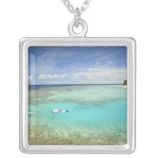 Bandos Island Resort, North Male Atoll, The Silver Plated Necklace