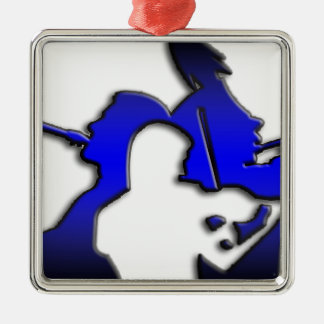 BandPeople.png Christmas Ornament