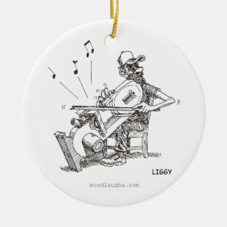 Bandsaw Musician Ornament