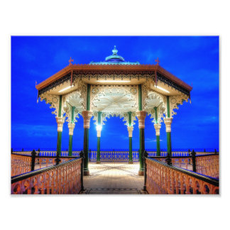 Bandstand at Twilight Photo