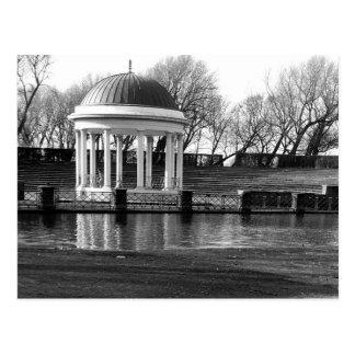 Bandstand, Stanley Park B/W Postcard
