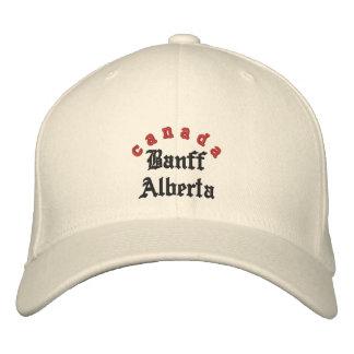 Banff Alberta, Canada Hat Embroidered Baseball Cap