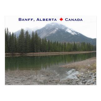Banff Alberta Canada Postcard