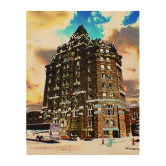 Banff, Canada, Wood Print