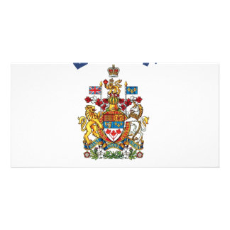Banff Coat of Arms Customised Photo Card