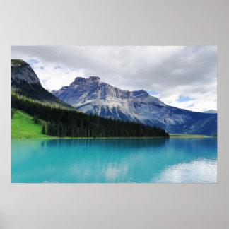 Banff Emerald Lake Poster