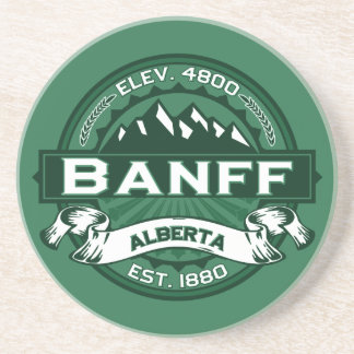 Banff Logo Forest Drink Coasters