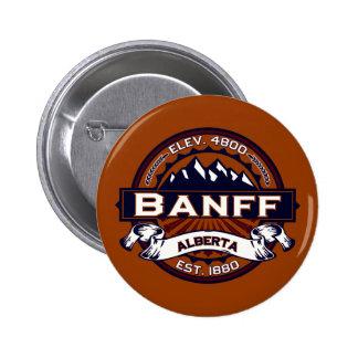 Banff Logo Vibrant 6 Cm Round Badge