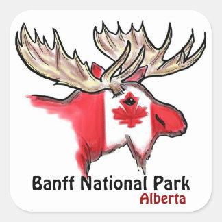 Banff National Park Alberta Canada elk stickers