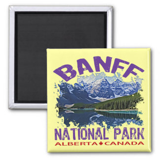 Banff National Park, Alberta Canada Magnet