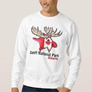 Banff National Park Alberta Canada mens elk shirt
