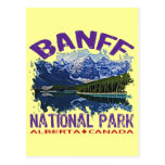 Banff National Park, Alberta Canada Postcard