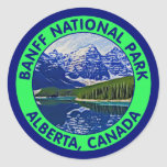 Banff National Park, Alberta, Canada Classic Round Sticker