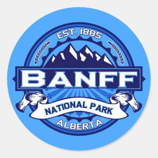 Banff National Park Logo Round Sticker