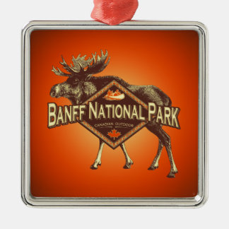 Banff National Park Moose Christmas Ornament