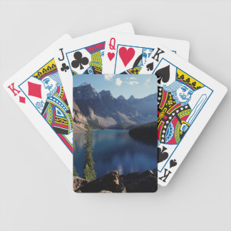 Banff National Park Moraine Lake Bicycle Playing Cards