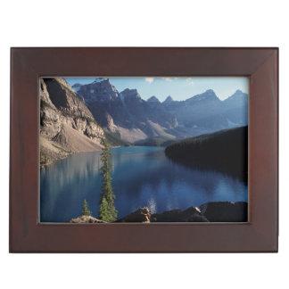 Banff National Park Moraine Lake Keepsake Box