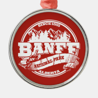 Banff Old Circle Red Christmas Ornament