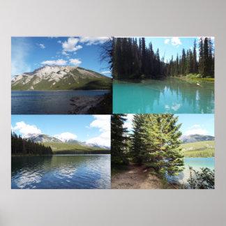 Banff Poster print