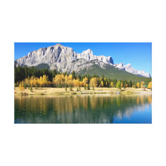 Banff Reflections Canvas Print