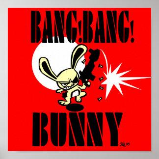 BANG!BANG! BUNNY! POSTER