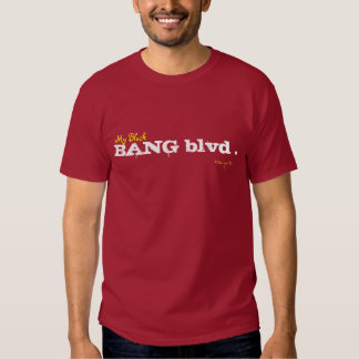 BANG blvd ., bangwear, My Block T Shirt